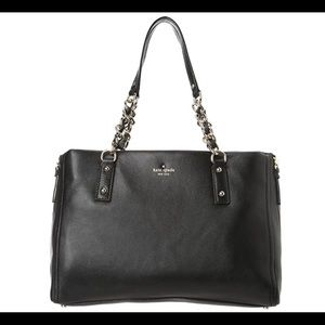 Kate Spade Black Cobble Hill Andee Satchel